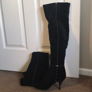 BCBGeneration Thigh High Suede Boots. Size 9.5